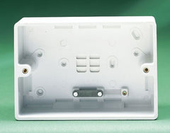 Crabtree Capital 9052 45mm Surface Moulded Box for 45A Switches