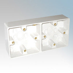 BG - 896 -  Dual Surface Box 37mm White