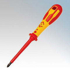 CK Tools VDE PZ2x100 - Philips Head Screwdriver - T49143