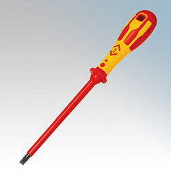 CK Tools VDE 3.0X100 - Slotted Parallel Screwdriver  - T49144