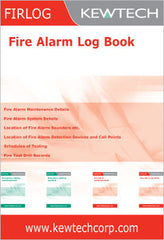 Kewtech - FIR1LOG Fire Alarm Log Book