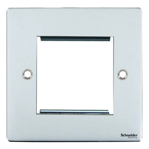 GU8260SS Ultimate flat plate stainless steel 2 euro modular plate