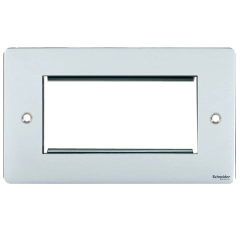 GU8280SS Ultimate flat plate stainless steel 4 euro modular plate