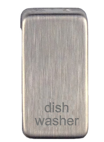 GUGRDWSS Ultimate grid rocker cap component stainless steel marked dish washer