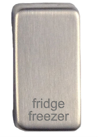 GUGRFRFZSS Ultimate grid rocker cap component stainless steel marked fridge/freezer