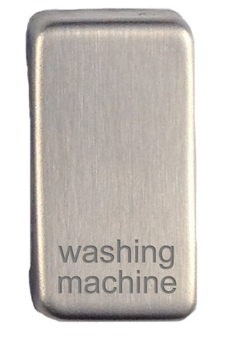 GUGRWMSS Ultimate grid rocker cap component stainless steel marked washing machine