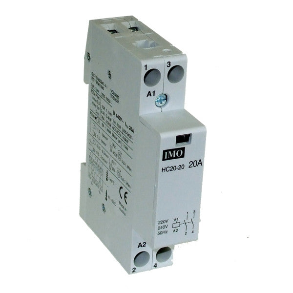 Imo Cr40c 20a 2p Contactor 240v Ac R B Star Electrical Wholesalers