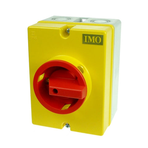 IMO  IS04C 25A 4P ROTARY ISOLATOR