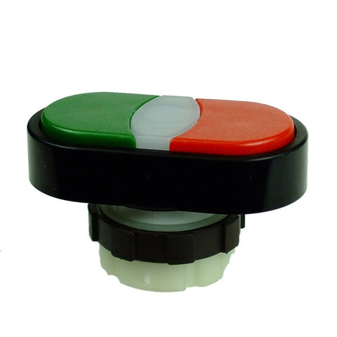 IMO  PB40C PUSHBUTTON DOUBLE HEAD RED/GREEN