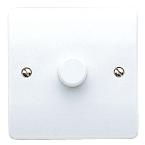 MK Electric K1525WHI Logic Plus 1 Gang 2 way Dimmer Switch for CFL - 240va