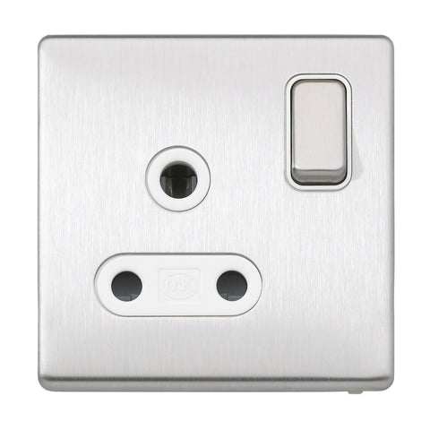 MK K24383BSSW - 15A 1G Switched Socket