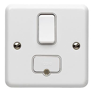 K3042WHI - 13A Switched Fused Connection Unit  - White