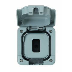 MK Masterseal Plus K56414GRY - IP66 Modular Grid Plus Enclosure Supplied with 1 and 2 Gang Inserts - Grey