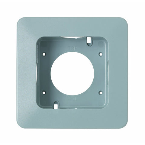 MK Masterseal Plus K56502GRY - IP66 1 Gang Flush Mounting Bezel For Use With 56506 - Grey