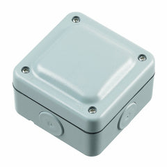MK Masterseal Plus K56506GRY - IP66 4-Way Terminal Junction Box - Grey