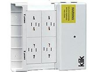 Klik - KLDS4 Lighting Distribution Box 4 Outlet