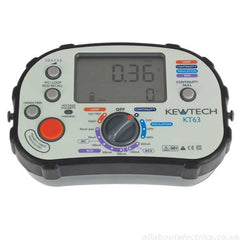Kewtech - KT63 Digital Multifunction 5 -in-1 ATT with polarirty check