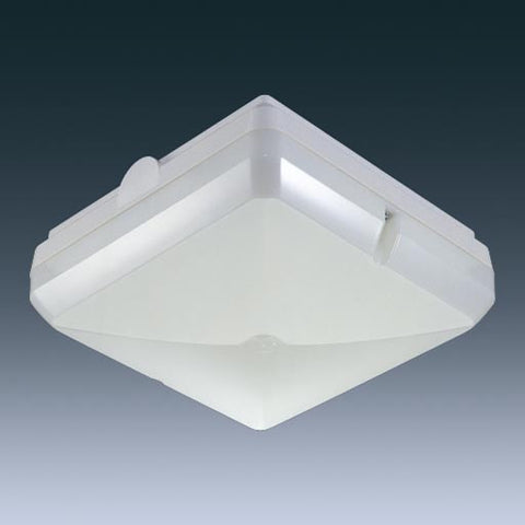 Thorn Lighting THOLES128SOPW Leopard IP65 White Square Bulkhead with