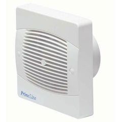 Manrose Primeline PEF4020 4 inch (100mm) Standard Toilet / Bathroom Extractor Fan with Adjustable Timer (XF100T)