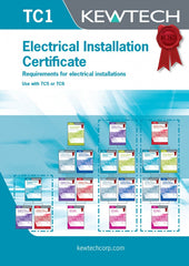 Kewtech - TC1 Electrical Installation Certificate