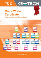 Kewtech - TC2 Minor Works Certifciate