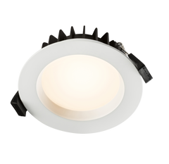 WD12RGBW 230V IP44 12W RGB and CCT Wi-Fi Downlight