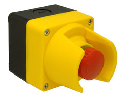 C&D EMSTSPSCO Control Station, Emergency Stop Twist To Reset, 1NO+1NC