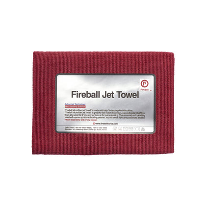 Fireball Jet Towel 60 x 42 cm Red
