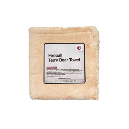 Fireball Terry Bear Buffing Towel 40 x 40 cm