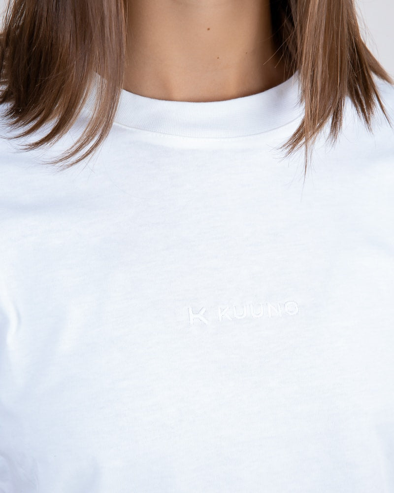 KUUNO Everyday Shirt Classic White Logo
