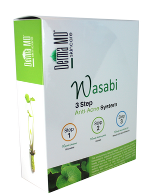 Wasabi Anti-Acne 3 Step System