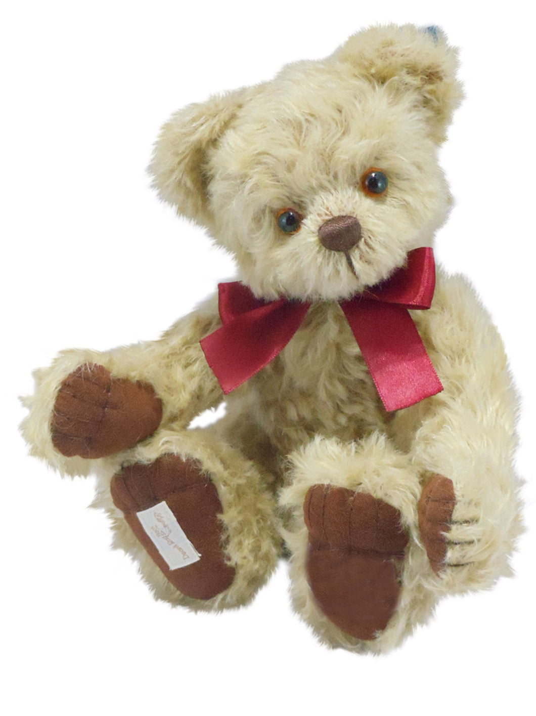 TEDDY LITTLE POPPY / DEAN'S MOHAIR LIMITED BEAR