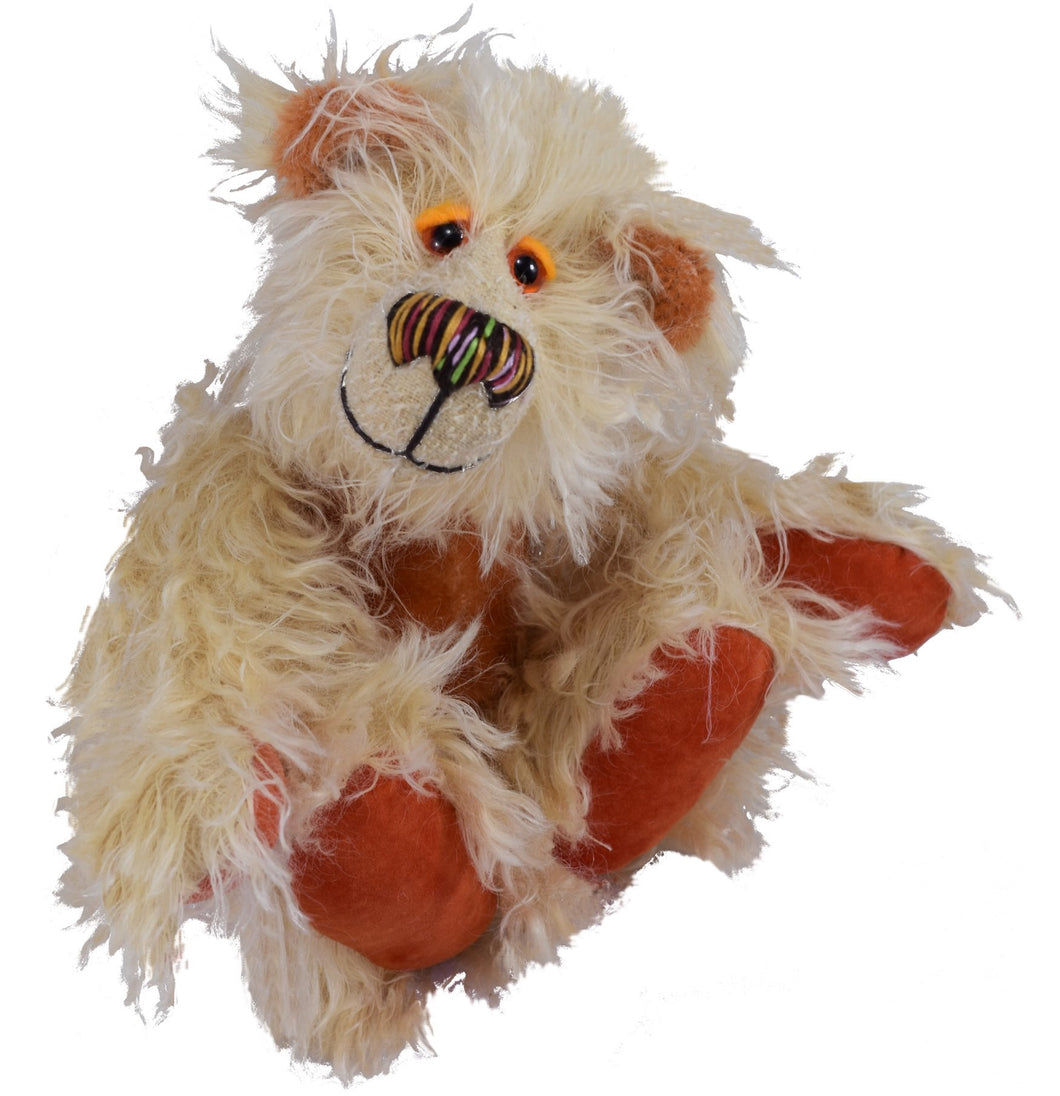NEW: TEDDY FITZROY / DEAN'S MOHAIR LIMITED BEAR / BARBARA ANNE DESIGN