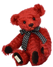 Load image into Gallery viewer, SOLD OUT: TEDDY AMARYLLIS / DEAN'S MOHAIR LIMITED BEAR