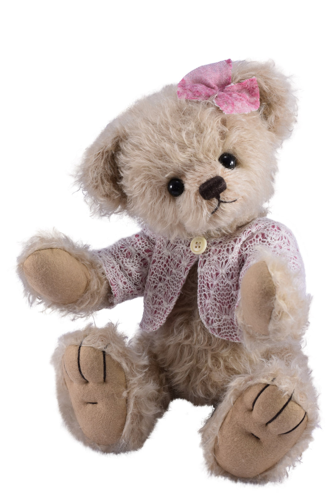 ONLY ONE LEFT! TEDDY JULE / CLEMENS MOHAIR ARTIST LIMITED EDITION BEAR