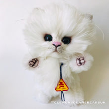 Load image into Gallery viewer, CAT MUFFIN / CLEMENS HIGH QUALITY SOFT PLUSH ARTIST LIMITED CAT