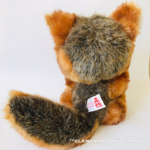 GRAY FOX LUKA / CLEMENS HIGH QUALITY SOFT PLUSH ARTIST LIMITED BEAR