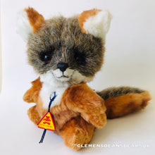 Load image into Gallery viewer, GRAY FOX LUKA / CLEMENS HIGH QUALITY SOFT PLUSH ARTIST LIMITED BEAR