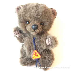 BEAR BUM / CLEMENS HIGH QUALITY SOFT PLUSH ARTIST LIMITED BEAR