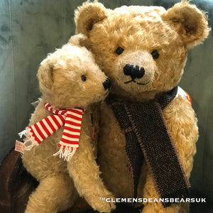 TEDDY PETER YOUNG/ CLEMENS 70TH ANNIVERSARY MOHAIR LIMITED BEAR
