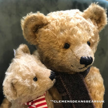 Load image into Gallery viewer, TEDDY PETER YOUNG/ CLEMENS 70TH ANNIVERSARY MOHAIR LIMITED BEAR