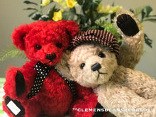 Load image into Gallery viewer, TEDDY AMARYLLIS / DEAN'S MOHAIR LIMITED BEAR
