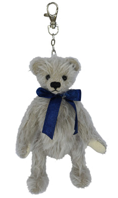 CLEVER TEDDY JARON / MOHAIR QUALITY BEAR (KEY RING /COIN CASE)