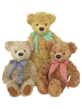Load image into Gallery viewer, TEDDY HONEY BEAR / CLEMENS CLASSIC SOFT PLUSH BEAR