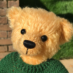 TEDDY PUMPKIN / DEAN'S MOHAIR LIMITED BEAR