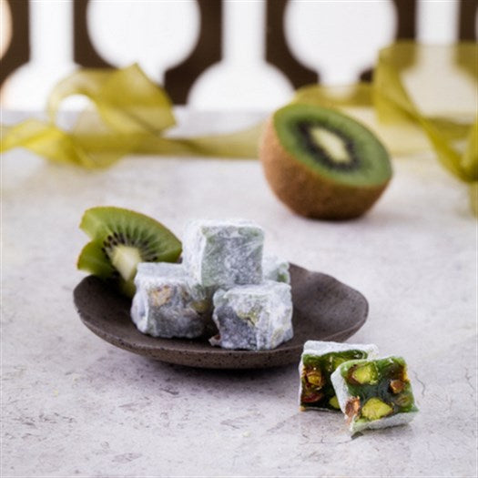 Double Pistachio Kiwi Turkish Delight - TurkishTaste.com
