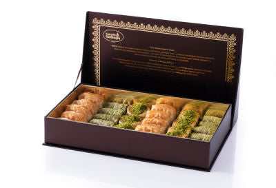 Fresh Assorted Mix Baklava - Gift Box - TurkishTaste.com