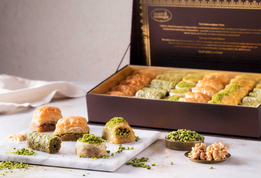 Fresh Assorted Mix Baklava - Gift Box