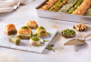Assorted Mixed Fresh Baklava - TurkishTaste.com