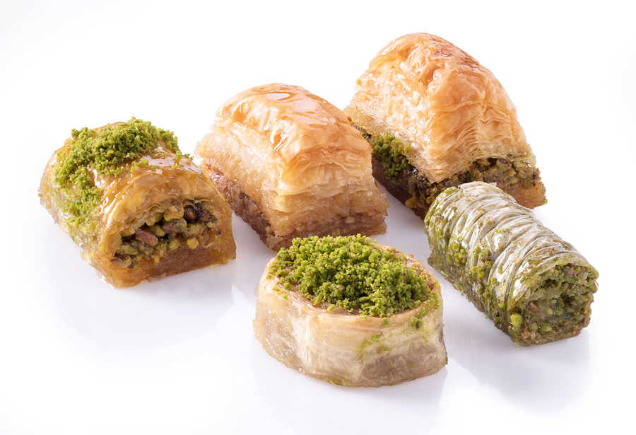 Assorted Mixed Fresh Baklava